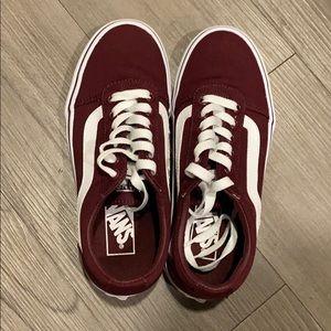 Brand new Vans sneakers